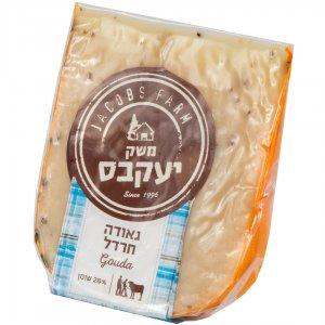 גבינת גאודה חרדל מחלב בקר 200 ג' יעקבס